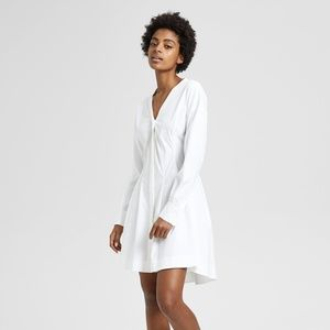 NWT Theory Darted Button Down Shirt Dress